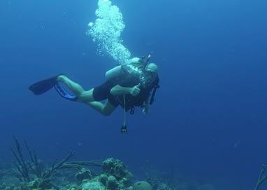 ont i örat efter dykning